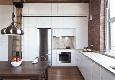 kitchen cabinet apartment brick house modern home in montreal qu 233 bec canada by 2348