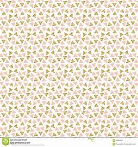 Gold Glitter Triangles Background. Stock Illustration ...