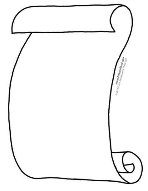 Blank Scroll Templates