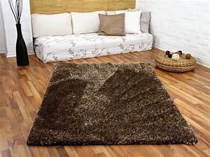 Hochflor Teppich Braun : hochflor shaggy teppich luxus feeling mix braun gold teppiche hochflor langflor teppiche braun ~ Orissabook.com Haus und Dekorationen