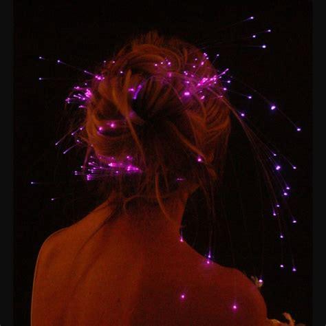 Cl Ic Glowbys Hair  Ee  Lights Ee   The Original Fiber Optic