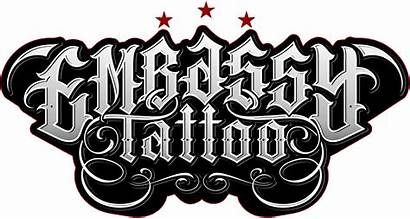 Tattoo Embassy Logos Welcome Thin Tattoos Fernando