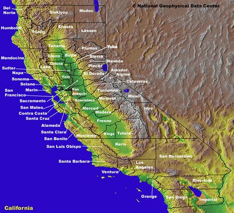 links  maps  california