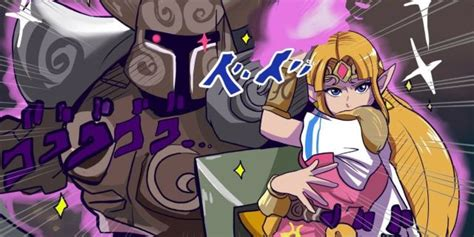 fan art proves zelda  join jojos bizarre