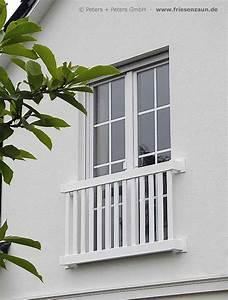 gelander fur balkon garten und terrasse hartholz weiss With französischer balkon mit garten kleidung