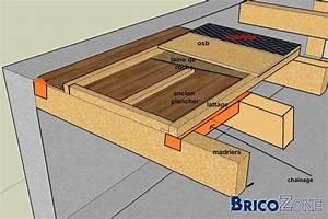 Faire Un Plancher Bois : construire sur plancher pos sur madriers ~ Dailycaller-alerts.com Idées de Décoration