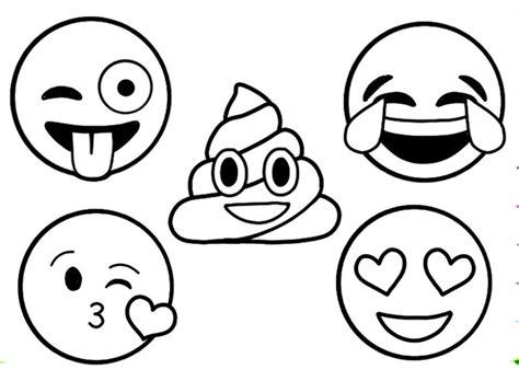 emoji coloring pages  print coloringareascom