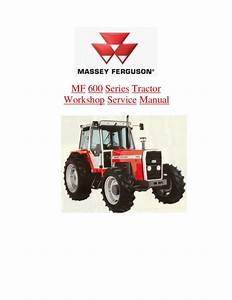 Massey Ferguson Mf 698 Tractor Service Repair Manual