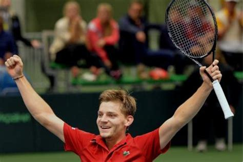 He is strong, focused, and intimidating. David Goffin: « J'aime bien jouer en premier » - Pro-tennis.be