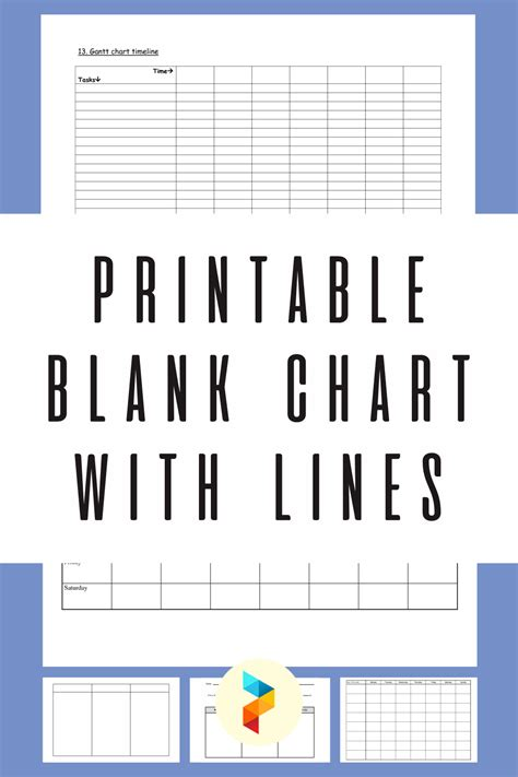 10 Best Printable Blank Chart With Lines - printablee.com