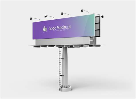 This free ipad mockup has clean and impressive looks to give amazing branding…. Free Outdoor Advertising 3D Billboard Mockup PSD - Good ...