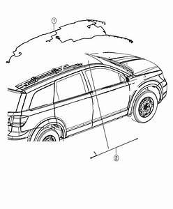 2017 Dodge Journey Wiring  Header  Us  Canada   Rr View Auto Dim Mirror W  Microphone