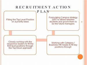 recruitment strategy With recruitment action plan template