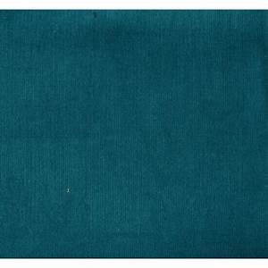 Tissu Velours Bleu Canard : tissus velours milleraies col paon la mercerie parisienne ~ Teatrodelosmanantiales.com Idées de Décoration