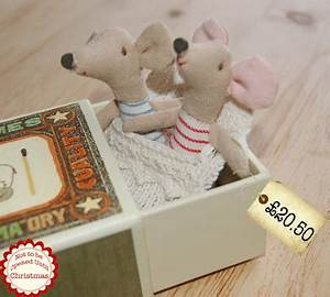 Bestest Christmas Gift Ideas Maileg Mice TWINS