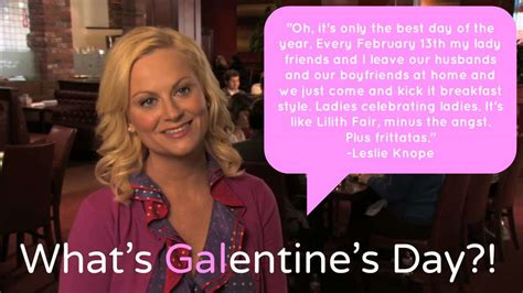 Leslie Knope Galentine's Day