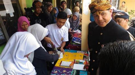 siswa sma bilang  ganjar baiknya indonesia mengusung