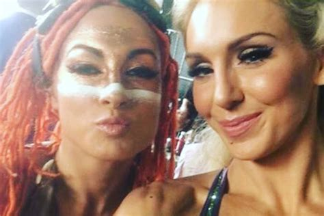 becky lynch thinks   charlotte   barely