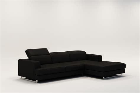 canap駸 cuir design canape d angle noir cuir maison design modanes com