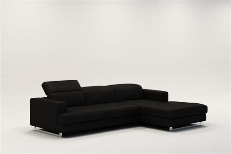 canapé angle cuir design canape d angle noir cuir maison design modanes com