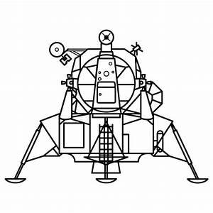 Image Gallery lunar lander drawing