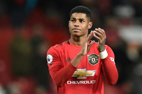 The manchester united and england striker, 23, raised £20million in donations from supermarkets for. Manchester United vs RB Leipzig: Marcus Rashford scores hat-trick in convincing victory for ...
