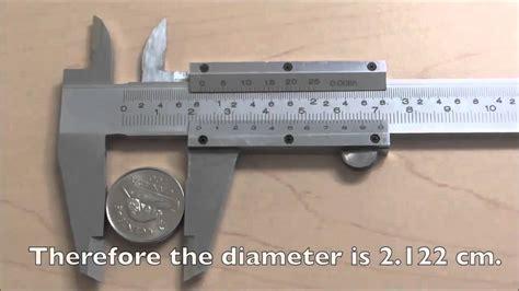 measuring with a vernier caliper youtube