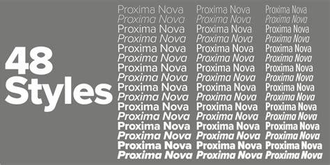 proxima nova font family  mark simonson studio font bros