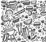 Coloring Bbq Grill Printable Pages Backyard Fun Instant Colorings Getcolorings Template sketch template
