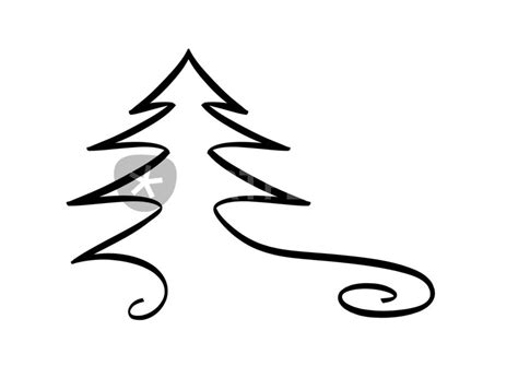 quot weihnachtsbaum quot grafik illustration als poster und