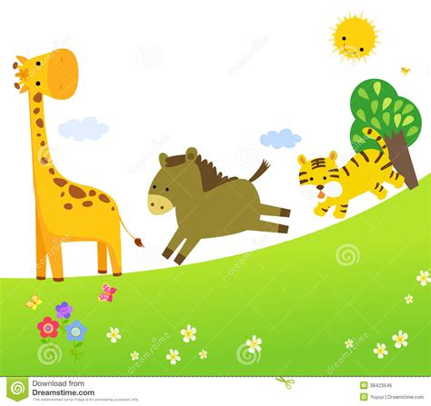 Animal Illustration Wallpaper - zoo clipart wallpaper pencil and in color zoo clipart