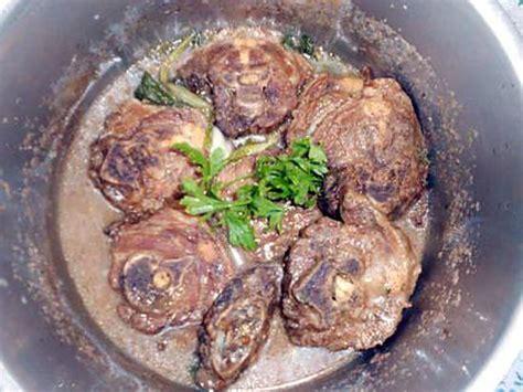 cuisiner du collier d agneau recette de ragout de collier d agneau a la creole