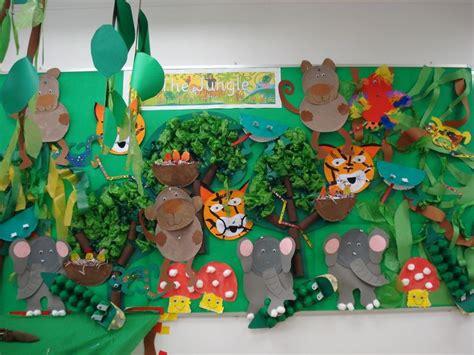 jungle animals preschool my pre k quot walking through the jungle quot display wall work 132