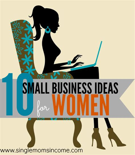 10 Small Business Ideas For Women  Single Moms Income