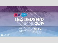 AAISP Leadership Summit 2019 April 16th18th Chicago, IL