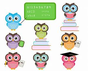 Owl School Clipart - Cliparts.co