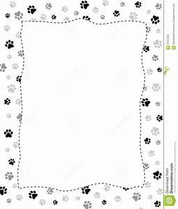 Dog Paw Print Border Clip Art – 101 Clip Art