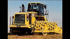 Cat 825g Soil Compactor