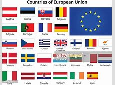 Countries Of European Union Flags Vector Art Getty Images