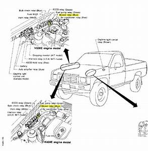 Where Is The Blower Motor Relay Located On My 1995 Nissan