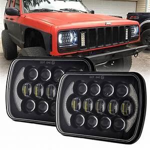 Diagram Head Lights Jeep Xj