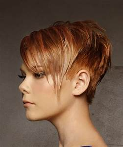 Short Brown Hairstyles With Red Highlights HairStyles