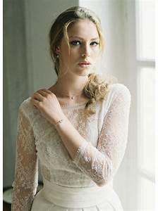 quotlauraquot collier de mariee avec long bijou robe dos nu so With robe mariage civil avec bijoux collier