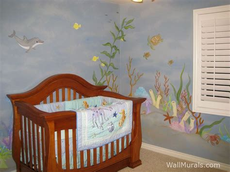 Ocean Theme Baby Room Mural With Dolphin And Sea Turtle. Zebra Lettering. Cursive Banners. Big Sale Stickers. Candle Banners. Training Institute Banners. Shattered Glass Decals. Mural Kerala Murals. Rollup Banners