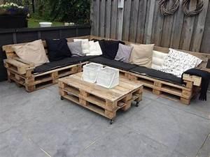 Lounge Aus Paletten : loungebank van pallets i love my interior ~ Frokenaadalensverden.com Haus und Dekorationen
