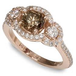 chocolate engagement ring gold ring gold rings with chocolate diamonds