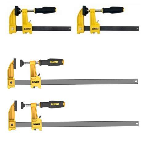 dewalt       lb bar clamps  pack