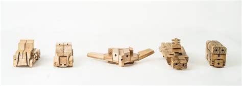 wonderful woobot wooden robot toys transform  interactive play