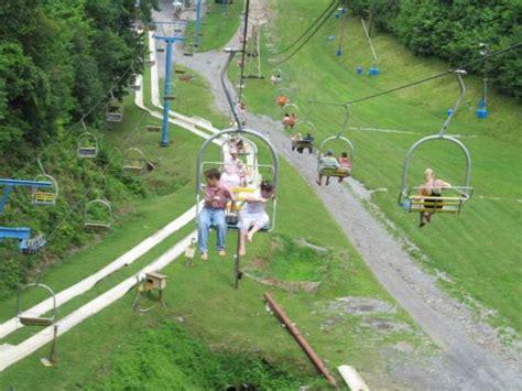 ober gatlinburg scenic chairlift chairlift and alphine slide picture of ober gatlinburg