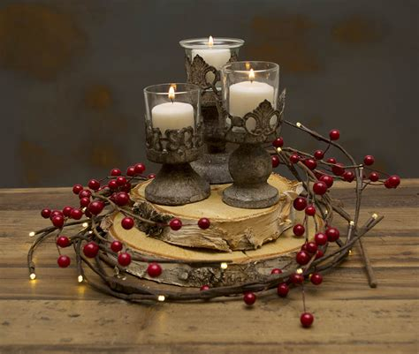 candles for christmas table christmas centerpiece idea 1 diy natural lighted berry